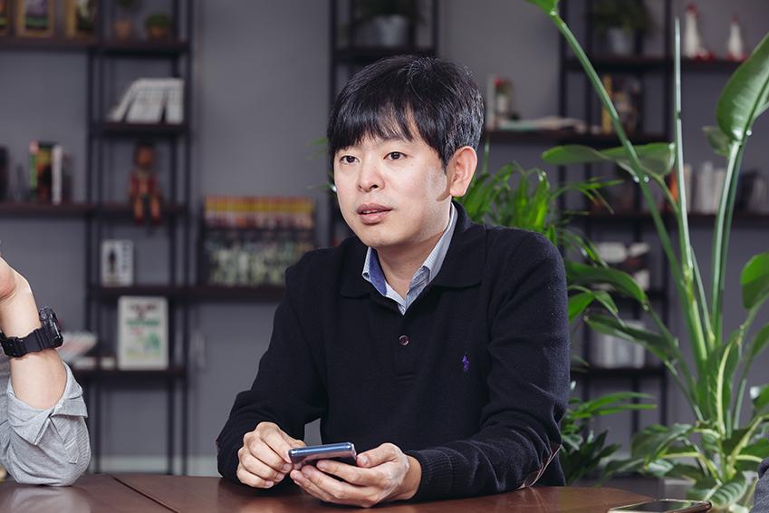 ▲ 삼성증권 출신의 배진흥 대표는 C랩을 통해 새로운 분야에 도전하고 있다