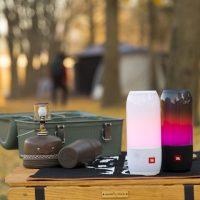 눈과 귀로 즐긴다! 가을 캠핑의 '흥' 더해줄 JBL 펄스3(PULSE3)