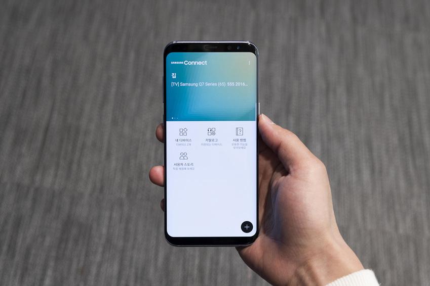 삼성 커넥트 앱 화면