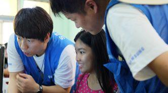 2017 임직원 해외봉사 ⑧ 미얀마 작은 마을에 핀 IT 교육의 꽃