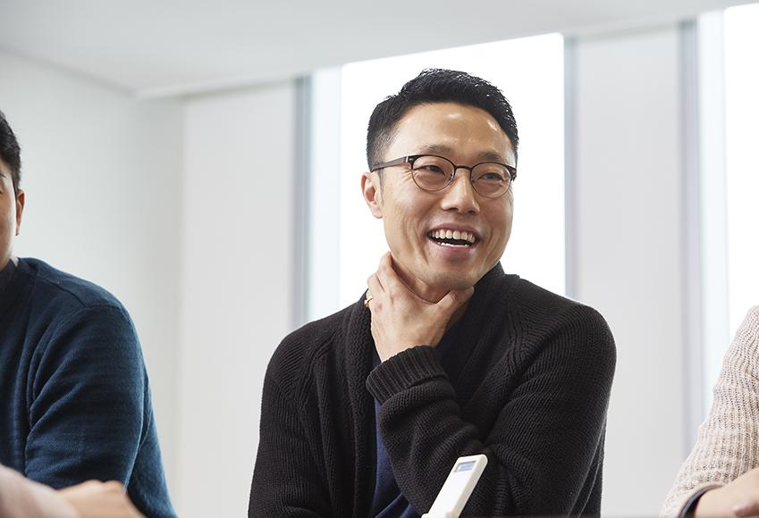 팀을 이끌고 있는 김남훈 CL