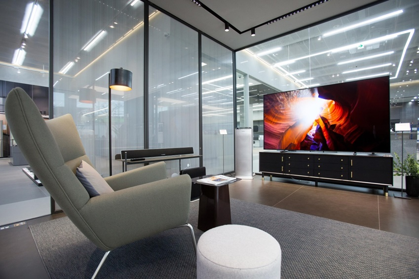 삼성전자의 다양한 라이프스타일 TV도 직접 체험해 볼 수 있다