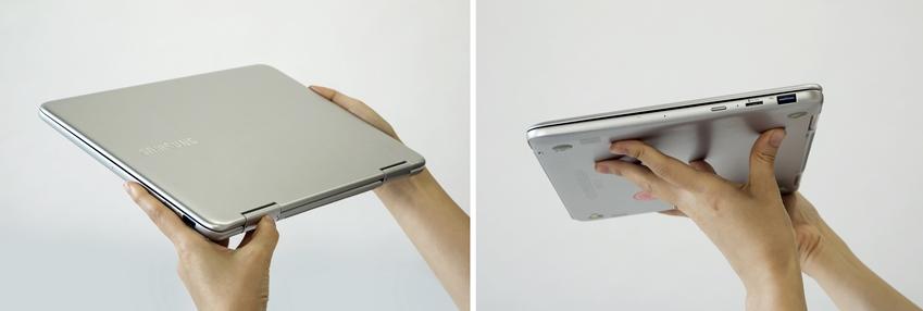 삼성 노트북 Pen 전면과 측면