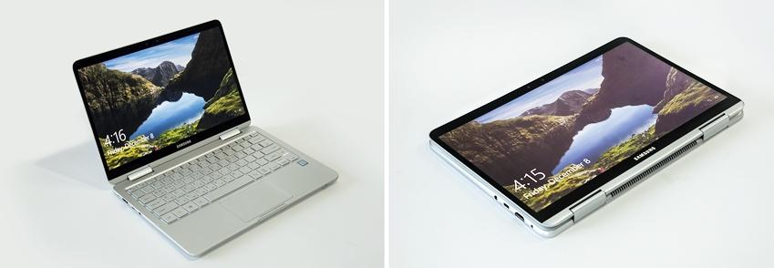 삼성 노트북 Pen  노트북 모드와 태블릿 모드