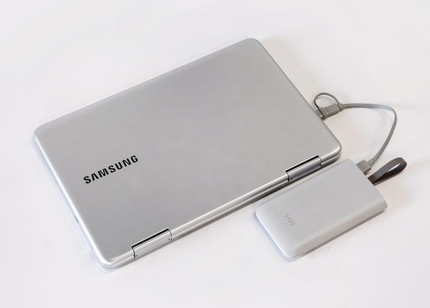 삼성 노트북 Pen 충전 편의성