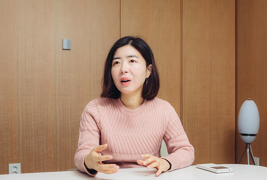 허진영 제일기획 프로의 모습