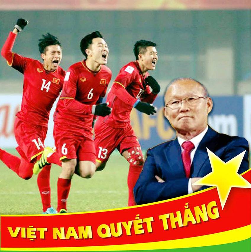 박항서 감독이 이끄는 베트남 대표팀