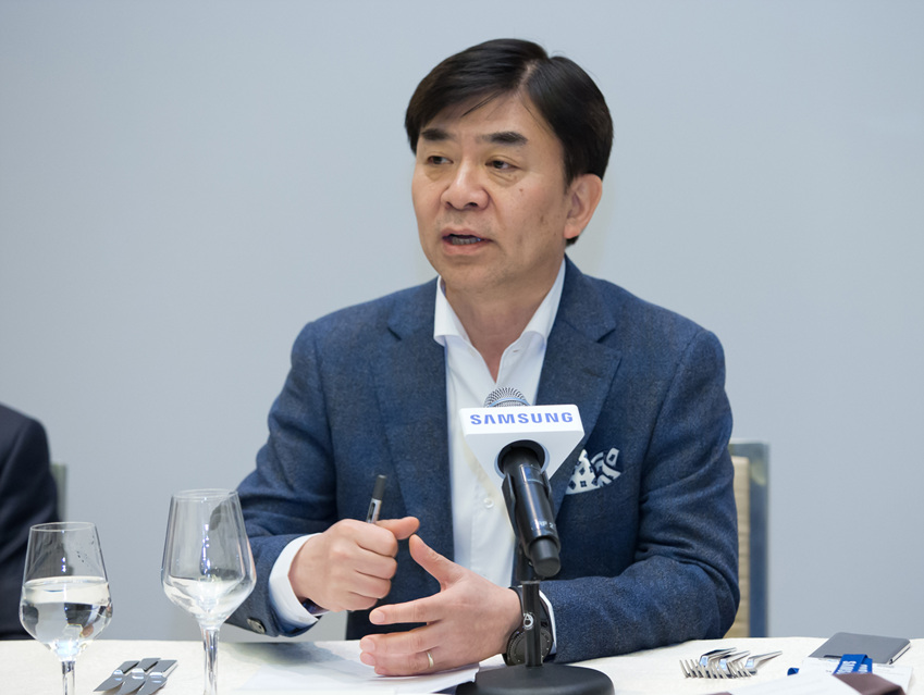▲삼성전자 CE부문장 김현석 사장