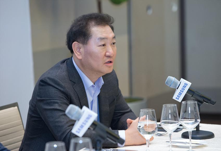 ▲삼성전자 영상디스플레이사업부장 한종희 사장
