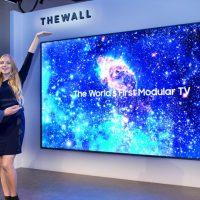 삼성전자, 세계 최초 모듈러 TV '더 월(The Wall)' 공개