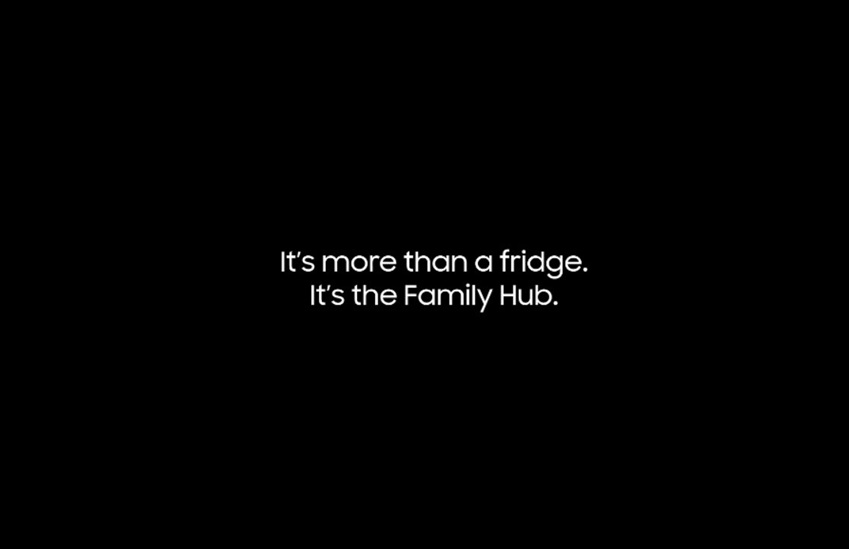 It's more than a fidge. It's the family Hub.