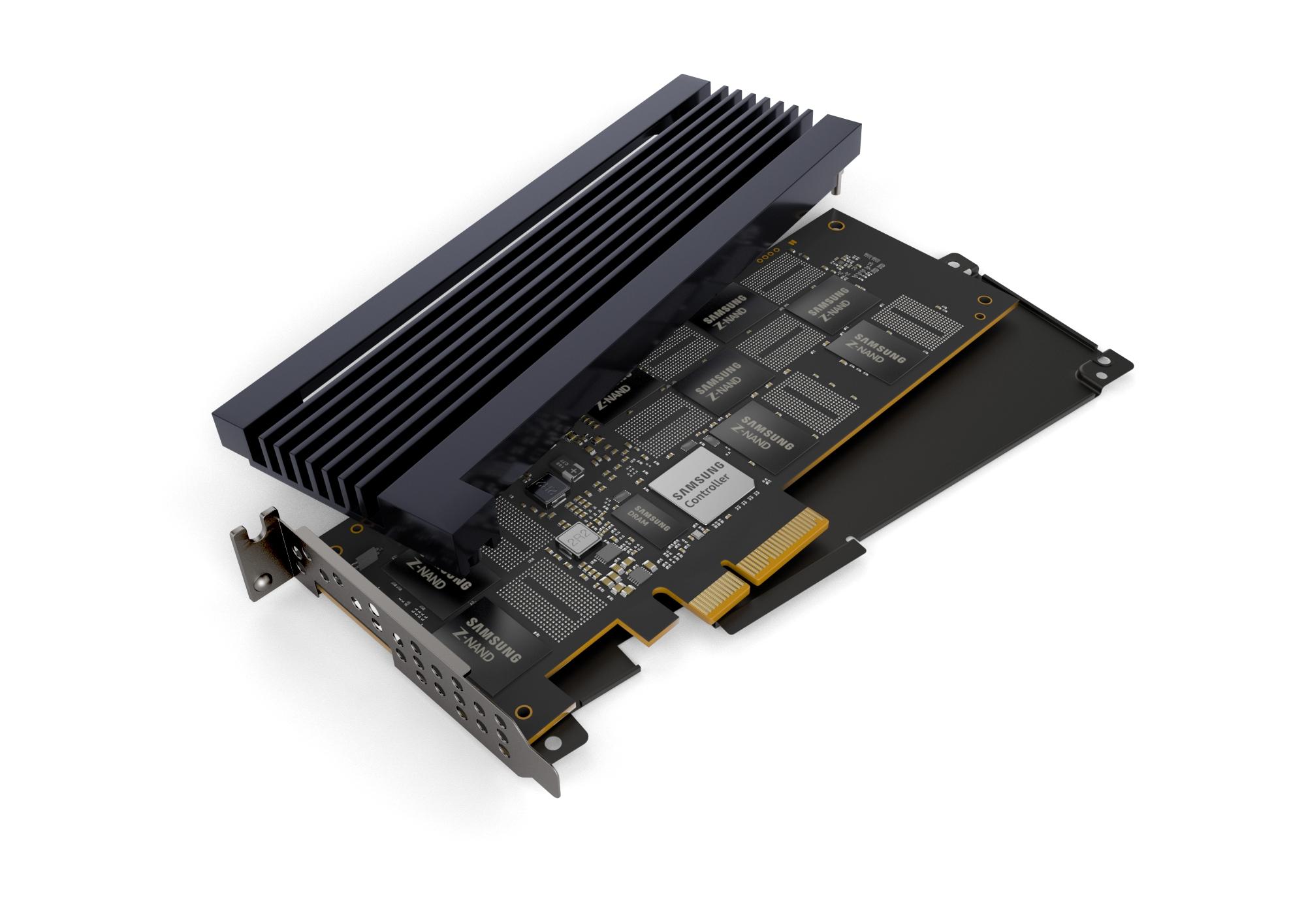 삼성전자가 출시하는 차세대 슈커컴퓨터용 '800GB(기가바이트) Z-SSD' 제품