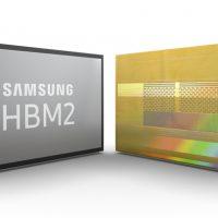 삼성전자, 세계 최대 전송량 '2세대 8GB HBM2 D램' 본격 양산