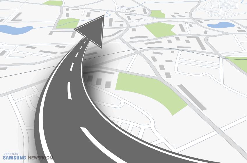 정밀지도를 구축하려면 각종 환경 인지 센서를 장착한 특수 목적의 측량 차량이 필요하다