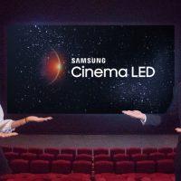 삼성전자, 세계 최대 극장 체인 '완다'와 손잡고 상하이에 '시네마 LED' 중국 1호관 열어