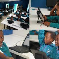 """""""태블릿으로 지구 반대편 뉴스 찾아볼까?"""" IT 교육서 희망 찾는 남아공 아이들"""