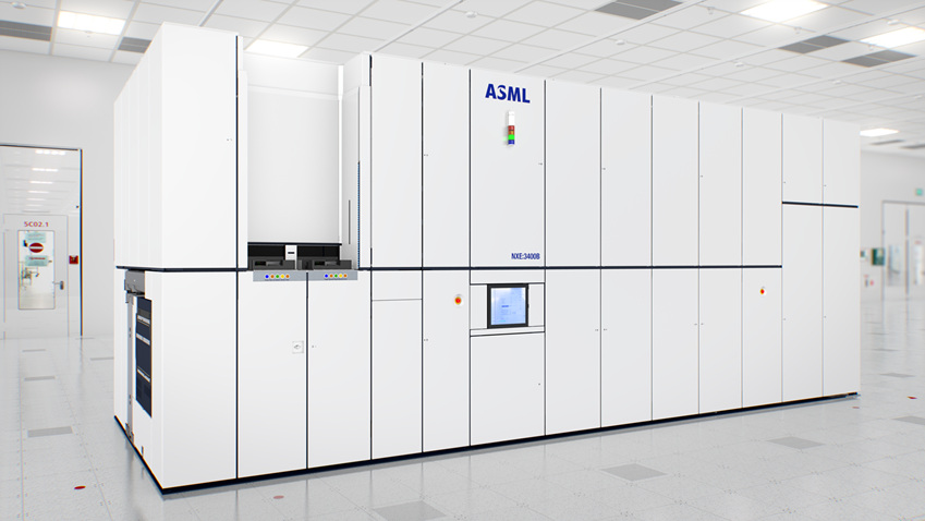 ▲큰 박스 모양의 EUV 스캐너 모습 (출처: ASML)