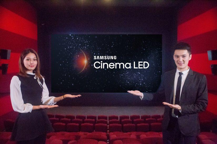 세계 최대 극장 체인 '완다'와 손잡고 상하이에 '시네마 LED' 중국 1호관 열어