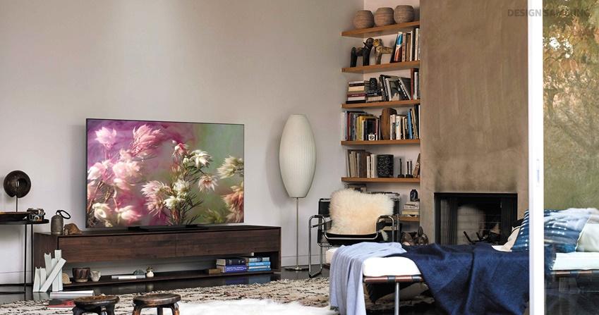 어느 공간에서나 자연스럽게 스며드는 2018 QLED TV
