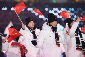 2018 평창 동계 올림픽 개막식 중국