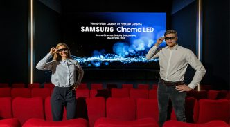 삼성전자, 세계 최초 '3D 시네마 LED' 상영관 선보여