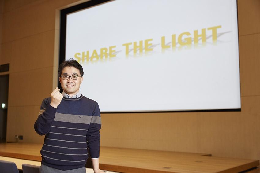 ▲최화주씨는 지난해에 이어 올해도 글로벌어스아워 캠페인과 연계된 삼성전자 행사 전반 실무를 맡았다