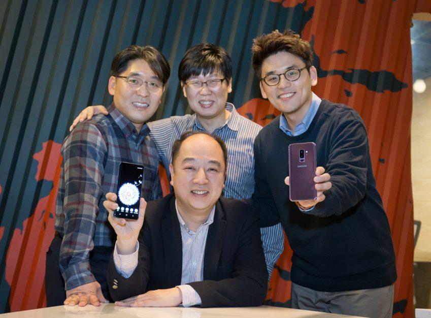 갤럭시 S9, S9+ 카메라개발, 상품기획 김동수∙최동옥∙남영민∙김준모 씨