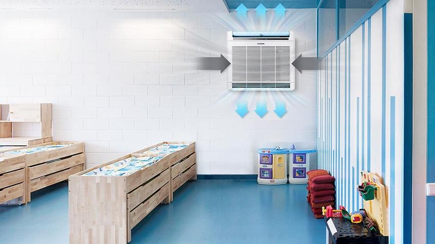 ▲벽걸이용 공기청정기 블루스카이 4000