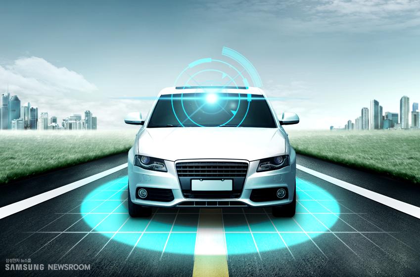 자율주행자동차에 장착된 카메라가 자율주행 시스템에 필요한 정적(靜的) 환경 정보(차선∙운전가능도로∙교통표지판∙교통신호 등)와 동적(動的) 환경 요소(차량∙보행자∙이륜차 등)를 전부 검출, 분류한다.