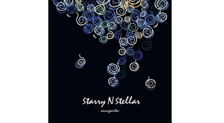 ▲'starryNstellar' 앨범 재킷 사진. 작곡에 영감을 준 고흐 작품 '별이 빛나는 밤'을 연상시키는 디자인이 인상적이다