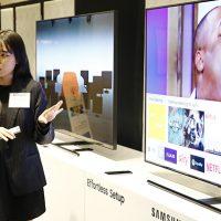 삼성전자 QLED TV, '동남아 테크 세미나'서 기술력 선보여
