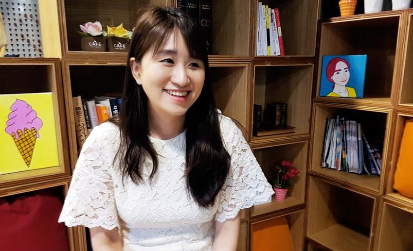 삼성전자 사회공헌사무국 윤지현씨