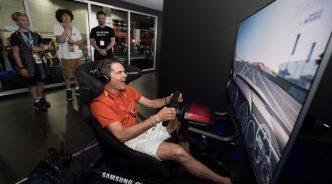 삼성전자, 세계 최대 게임쇼 'E3'서 QLED TV 최고 인기