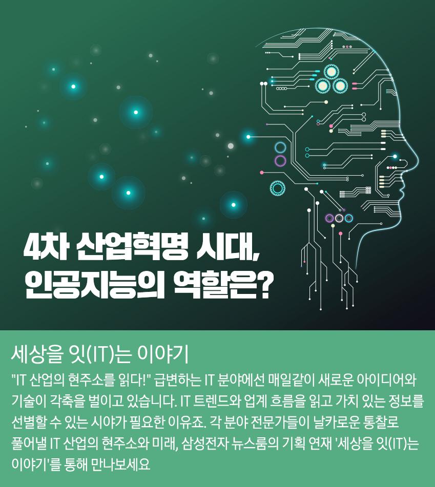 4차 산업혁명 시대, 인공지능의 역할은?