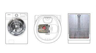 갤럭시 S9 슈퍼 슬로우 모션으로 포착한 가전들의 '열 일' 순간