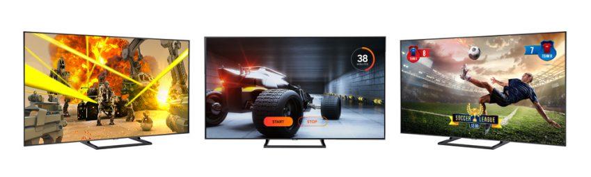 QLED TV를 이용해 다양한 콘텐츠를 즐기는 사례