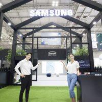 삼성전자, '광주 국제 IoT·가전·로봇 박람회' 참가, 한층 진화한 '삼성 홈IoT' 선보여