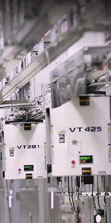 반도체 제조라인 속 자율주행시스템