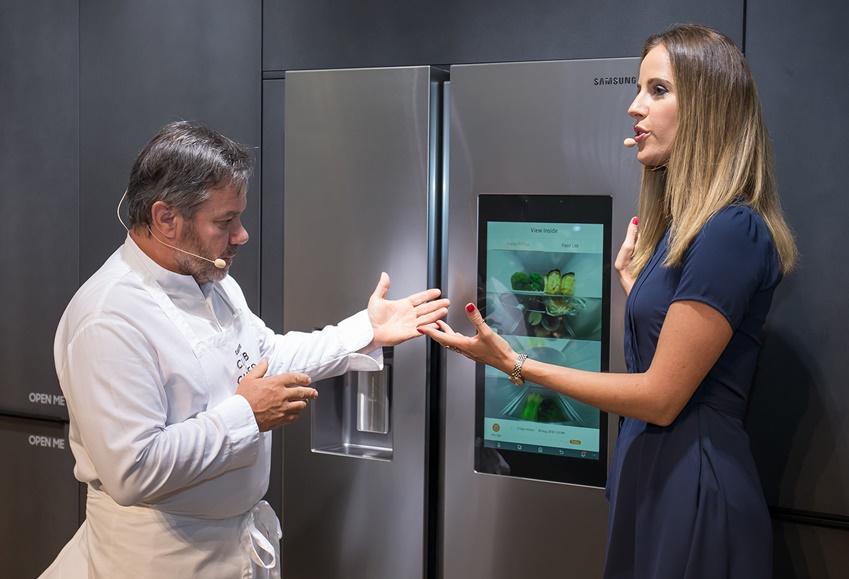 '삼성 스마트 라이프 레시피(Samsung Smart Life Recipe)' 쿠킹쇼 현장 모습