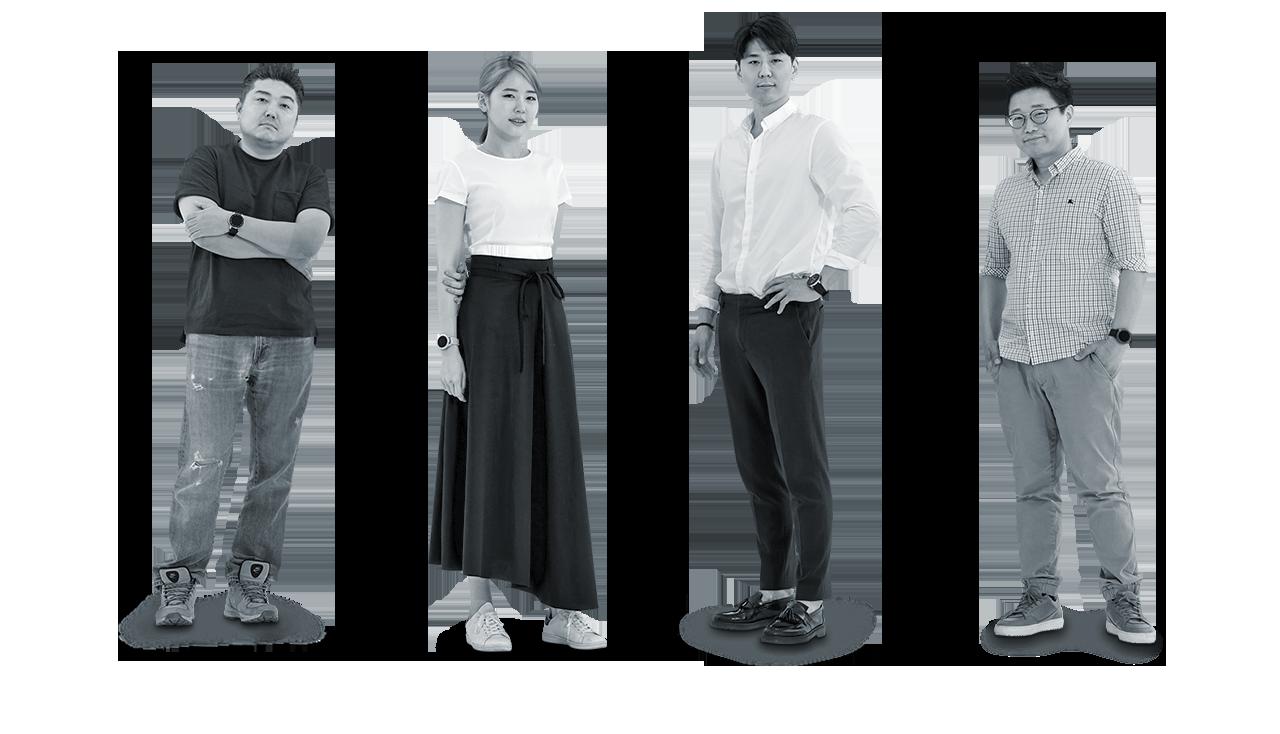 삼성전자 디자인팀 최광하, 배혜민, 홍재형, 오산희 디자이너