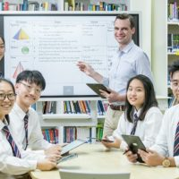 삼성전자, 싱가포르에서 플립으로 스마트 스쿨 구축