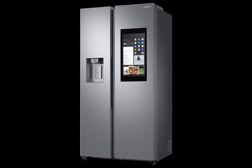 영국 최고 권위 소비자 연맹지 위치로부터 우수한 평가를 받은 삼성전자 양문형 냉장고 제품 사진