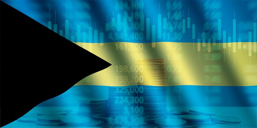 바하마 국기
