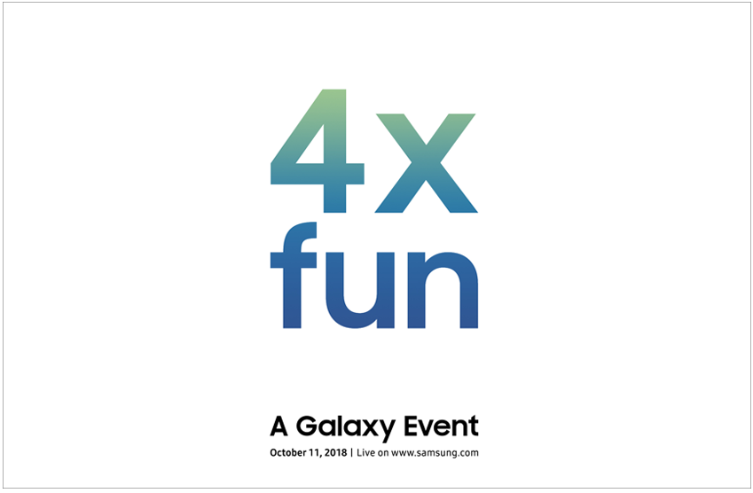 4X fun / A Galaxy Event / Octover 11,2018 / Live on www.samsung.com
