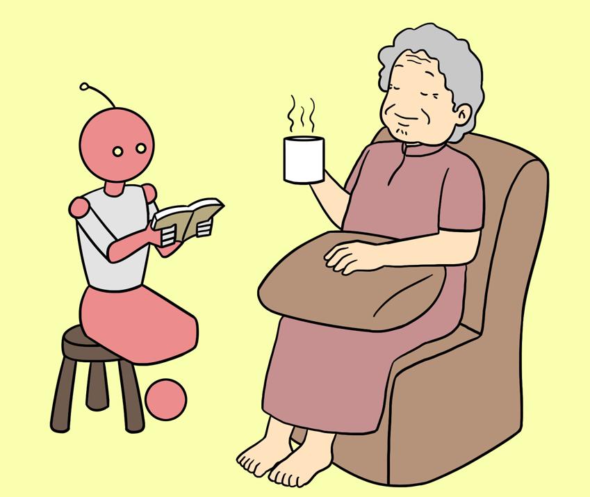 노년의 삶을 도와주는 ai