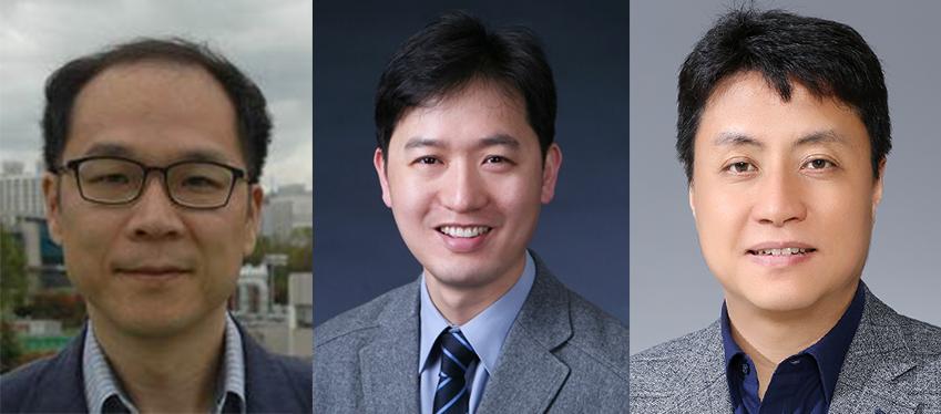 안재욱 교수(KAIST), 박병국 교수(KAIST), 최승문 교수(포스텍)