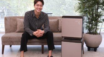 삼성전자, '메탈 브라운' 색상 입은 '삼성 큐브' 신제품 선보여