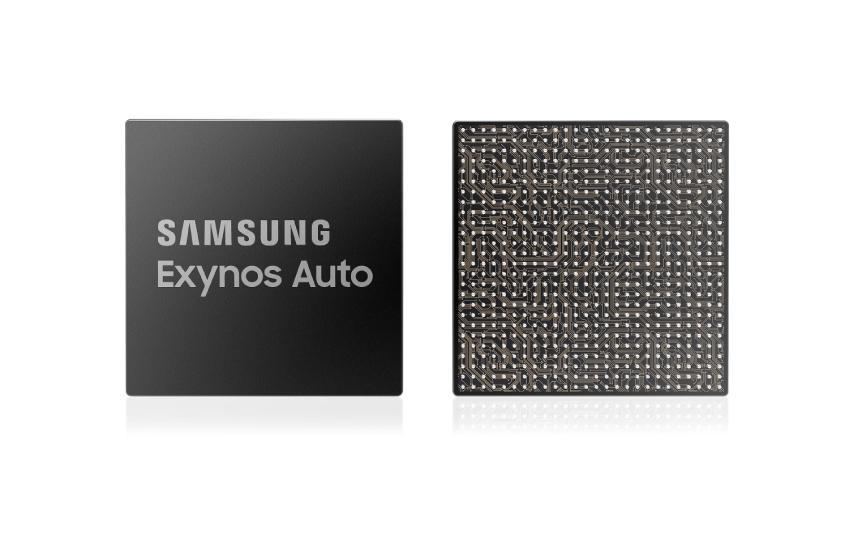 삼성전자 차량용 반도체 브랜드 Exynos Auto 이미지컷