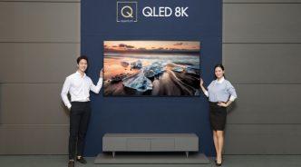 삼성전자, TV 화질의 패러다임 바꾼 'QLED 8K' 국내 출시