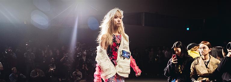 패션쇼에서 만난 갤럭시, 알쉬미스트 X 갤럭시 노트9